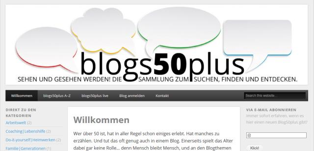 50plus BloggerInnen